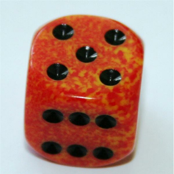 Chessex Speckled Fire D6 16mm