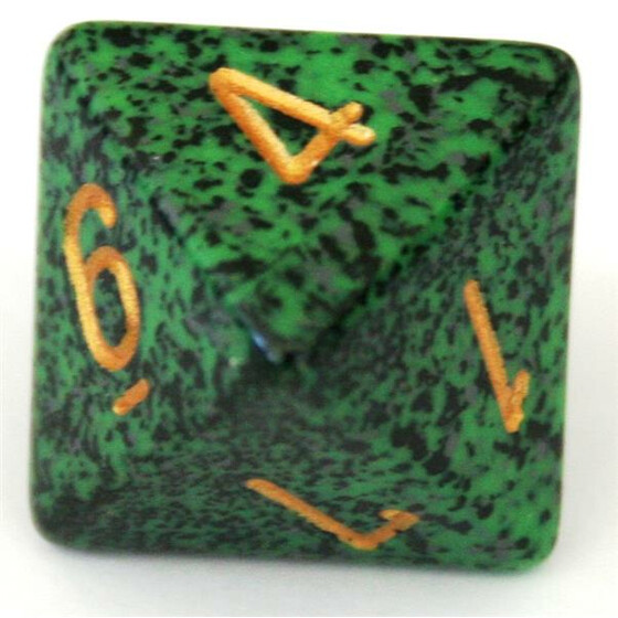 Chessex Speckled Golden Recon W8