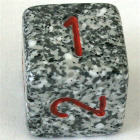 Chessex Speckled Granite D6