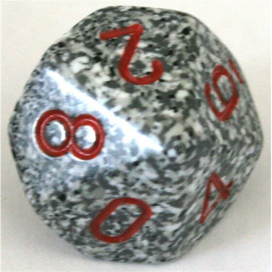 Chessex Speckled Granite D10