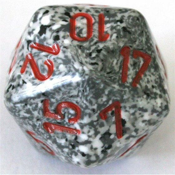 Chessex Speckled Granite D20
