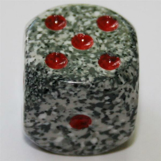 Chessex Speckled Granite W6 16mm