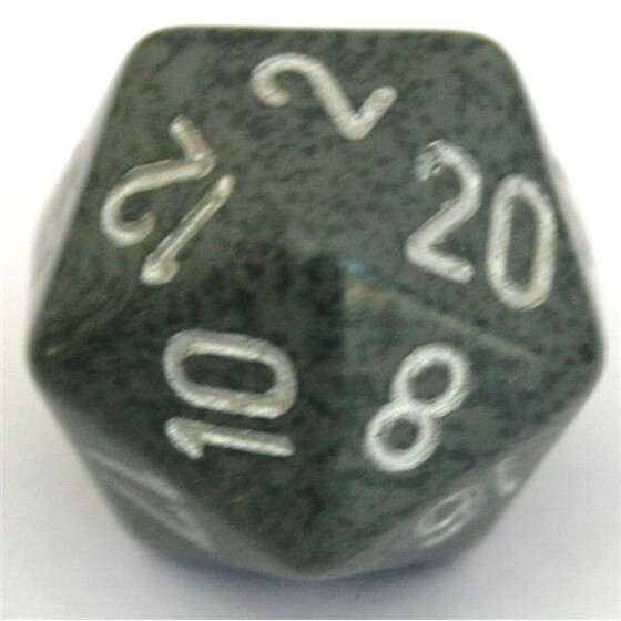 Chessex Speckled Hi-Tech D20