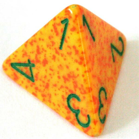 Chessex Speckled Lotus W4
