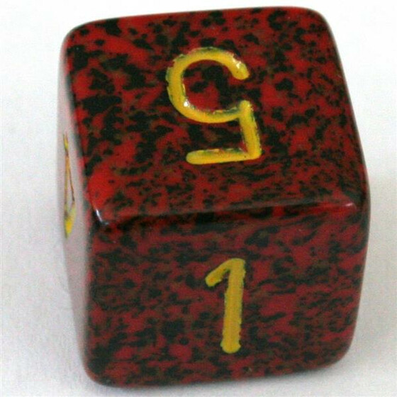 Chessex Speckled Mercury W6