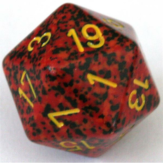 Chessex Speckled Mercury D20